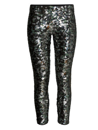 isabel marant for h&m sequin pants