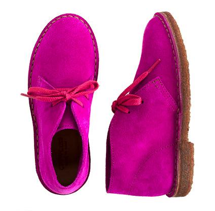 j crew kids pink booties
