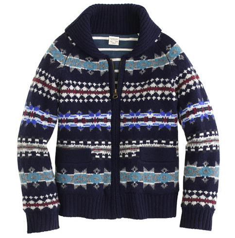 jcrew boys cardigan