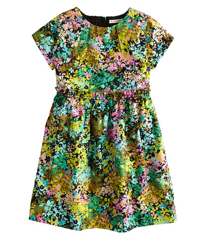 floral print dress pretty princess J Crew