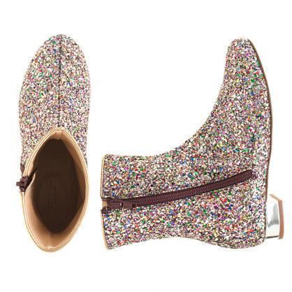 sparkle boots J Crew