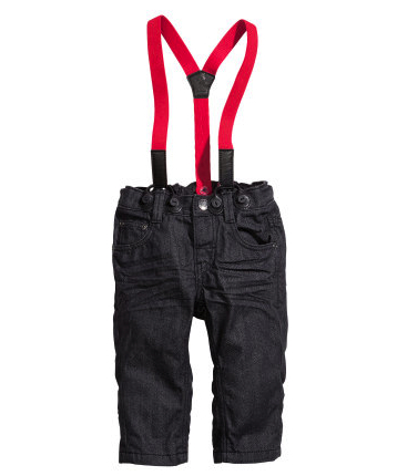 boho jeans suspenders boys h&m