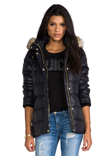 Puffer jacket juicy couture