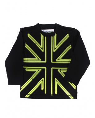 union jack kids tshirt capital k