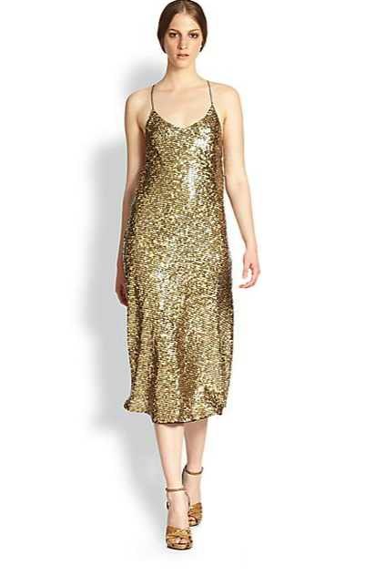 marc jacobs sparkle dress saks