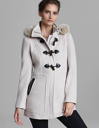 toggle white coat Marc New York