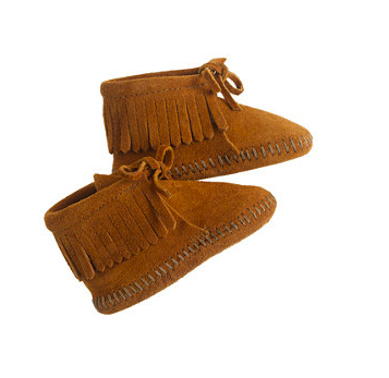 minnetonka baby booties