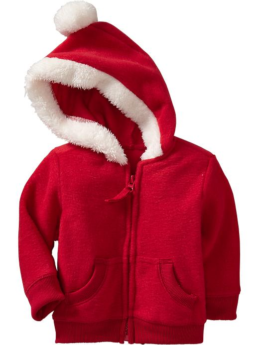 santa kids fleece