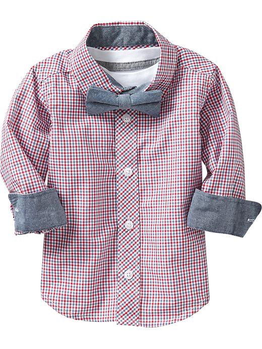 kids shirt and tie set old navy