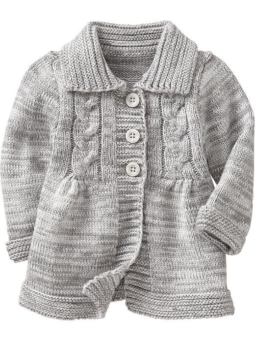 baby cardigan