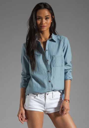 chambray shirt Paige denim
