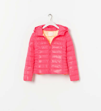 puffer jacket Zara girls