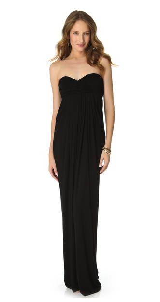 rachel pally strapless dress