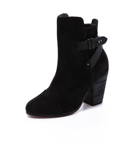 rag and bone suede bootie shop