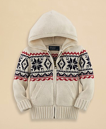 ralph lauren boys cardigan
