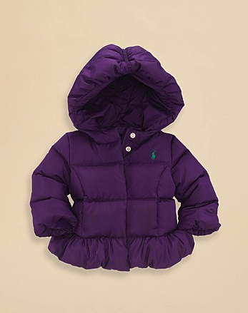 puffer jacket ralph lauren girls