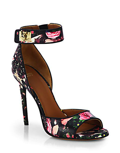 rose garden shoe Givenchy