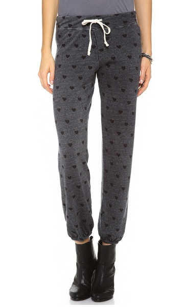 sexy sweatpants heartprint sundry