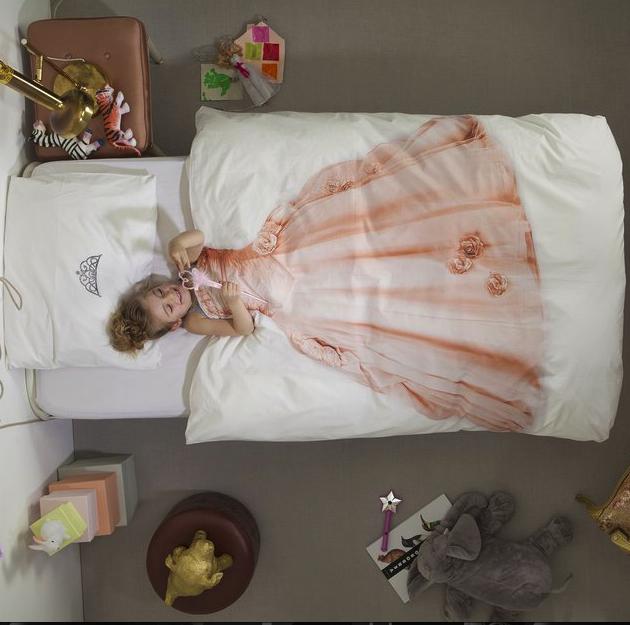 snurk princess duvet and pillow set