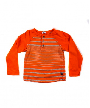 splendid orange henley