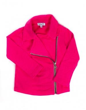 splendid pink moto jacket