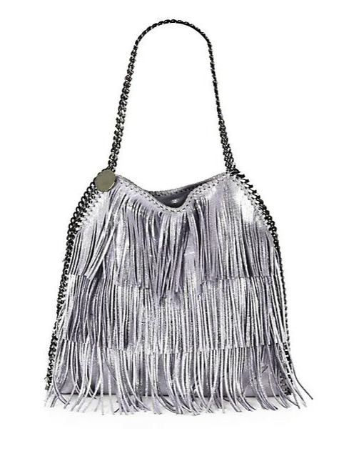 stella mccartney metallic bag