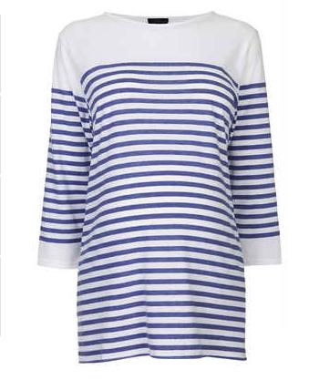 topshop breton shirt
