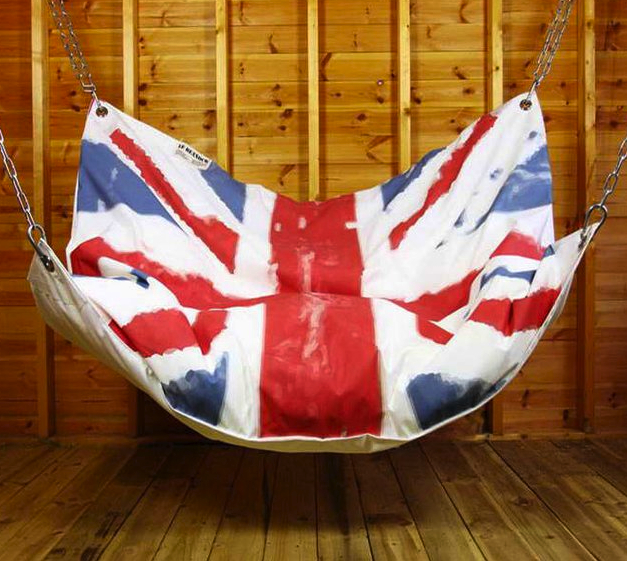 bean bag hammock union jack