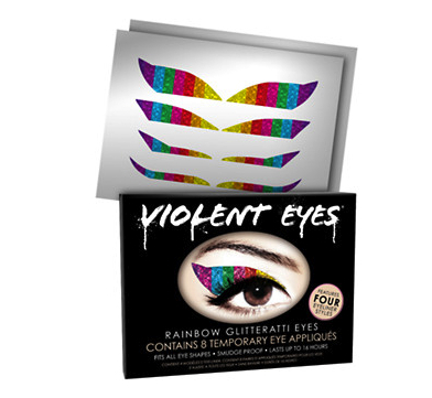 violent eyes glitter eye tattoos