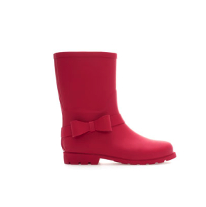 zara bow wellies