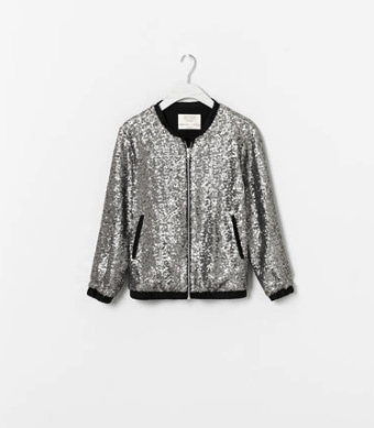 zara girls hoiday jacket