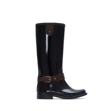 zara girls wellies