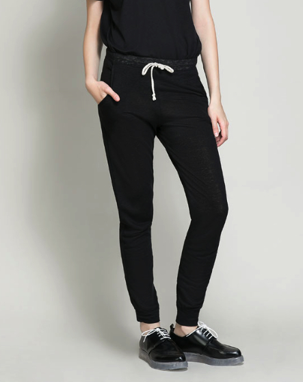 under $100 sweatpants Zara