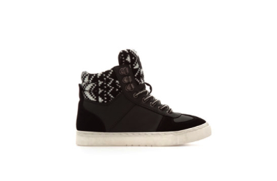 boho hightops zara sneakers kids