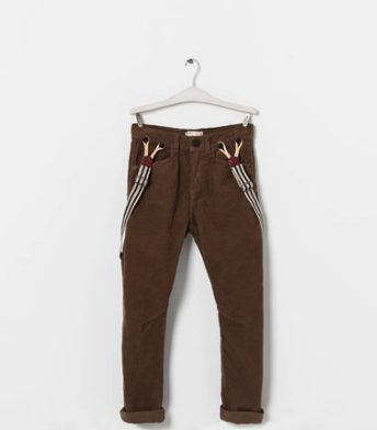 boho suspender pants boys zara