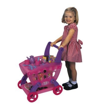 3 in 1 tea cart and shopping cart
