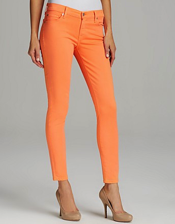 7 for all Mankind orange