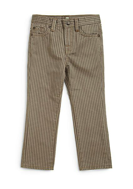 7 for all mankind houndstooth jeans