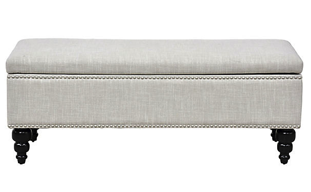 An Elegant Retreat storage bench