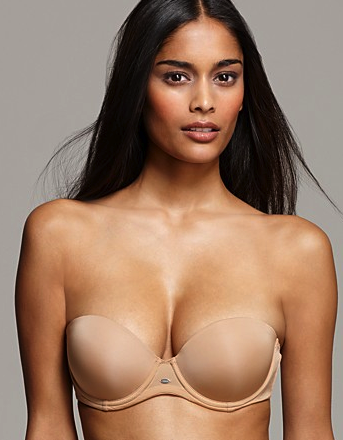 Calvin Klein straplesss push up bra