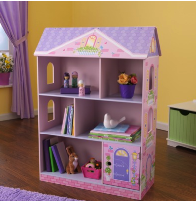 KidKraft dollhouse book case