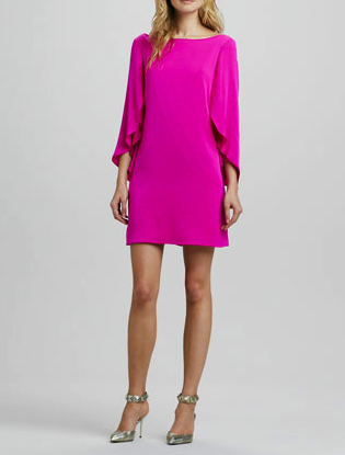 Milly pink dress