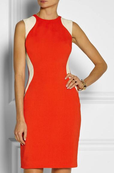 Stella Mccartney bright dress net