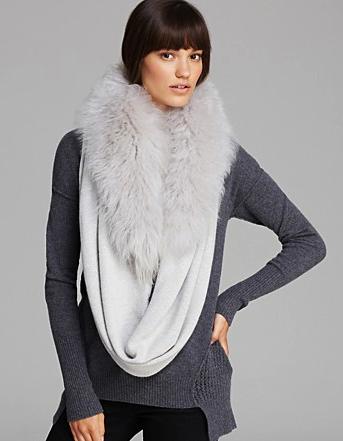 Ugg Australia shearling loop scarf