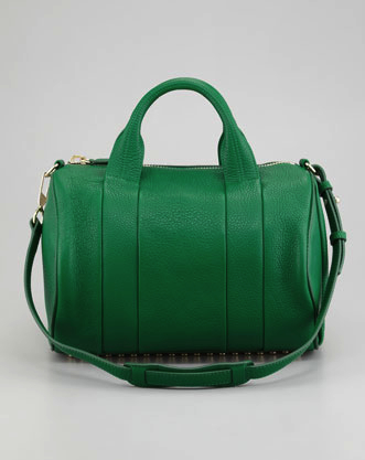 alexander wang green bag