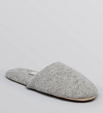 arlotta cashmere slippers