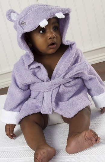 baby aspen robe