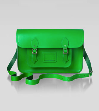 cambridge satchel green
