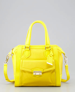 cole haan yellow bag