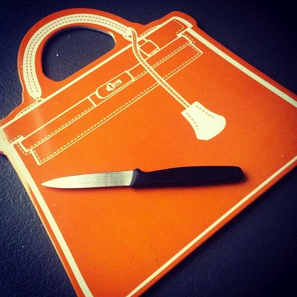 cutting board purse